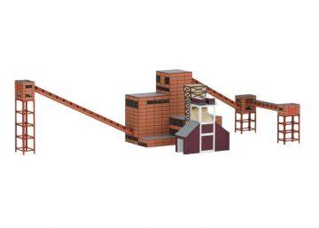 Bausatz Zeche Zollv