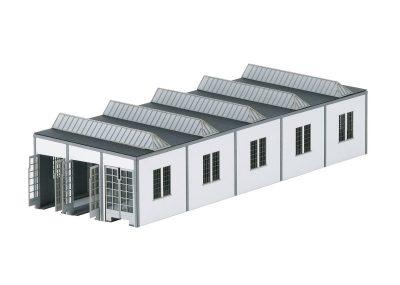 Bausatz Elektro-Lokomotive-Schuppen Mannhe <br/>TRIX 66318