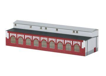 Bausatz Werkstattanbau Elektro-Lokomotive- <br/>TRIX 66319 1