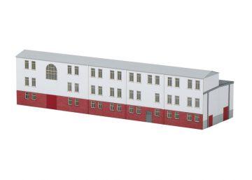 Bausatz Werkstattanbau Elektro-Lokomotive- <br/>TRIX 66319 2
