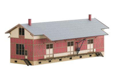 Bausatz Fachwerk-Güterschuppe <br/>TRIX 66323