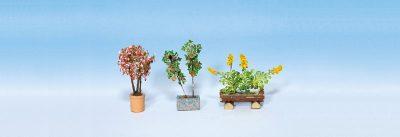 Zierpflanzen in Blumenkübeln <br/>NOCH 14014