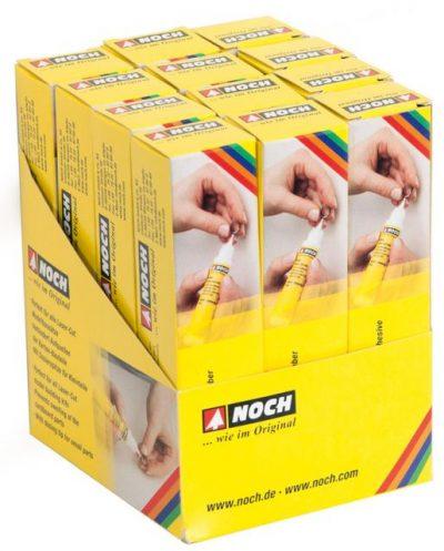 Laser-Cut-Kleber im VK-Karton, Inhalt: 12 x 61104 <br/>NOCH 61105