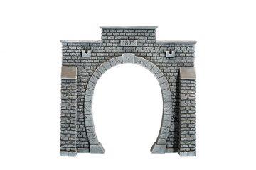 Tunnel-Portal, 1-gleisig, 24 x 23 cm <br/>NOCH 67200 1
