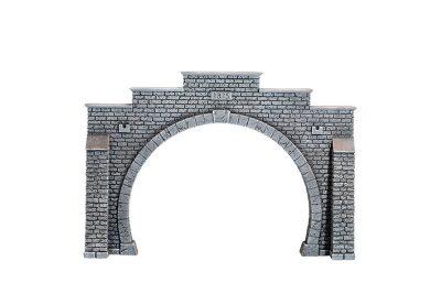Tunnel-Portal, 2-gleisig, 37 x 25 cm <br/>NOCH 67201