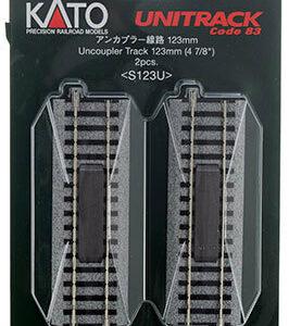 Entkupplungs-Gleis, 123 mm (2-P KATO 7002143