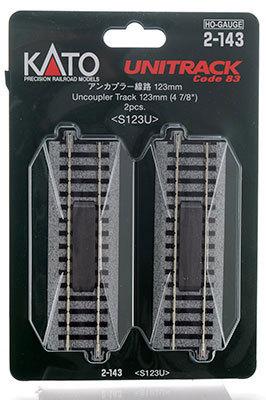 Entkupplungs-Gleis, 123 mm (2-P <br/>KATO 7002143