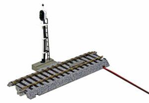 Signalgleis,123 mm <br/>KATO 7002601