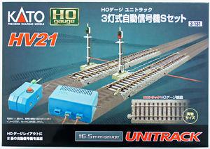 Signal-Gleisset HV21 <br/>KATO 7003131