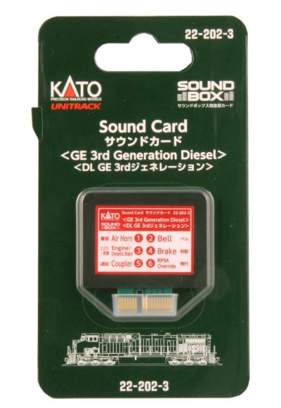 Elektronik, Sound Card für Soundbox <br/>KATO 7022204
