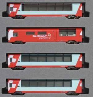 Glacier Express Ergänzungs-Set <br/>KATO 7074031