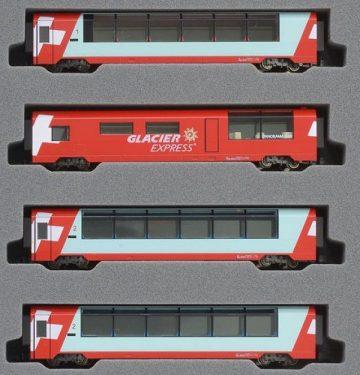 Glacier Express Ergänzungs-Set <br/>KATO 7074031 1