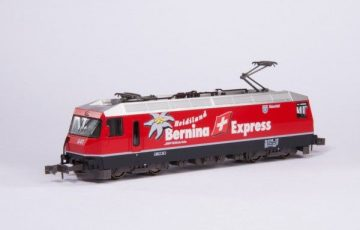 GE4/4-III 641 Bernina Express <br/>KATO 7074037 1