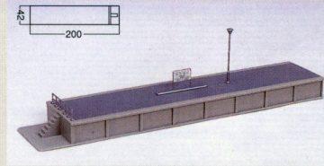 Bahnsteig Typ 1 Kopfteil <br/>KATO 7074918 1