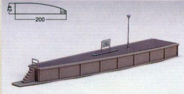 Bahnsteig Typ 2 einseitig geb <br/>KATO 7074919 1