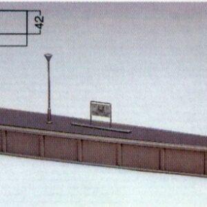 Bahnsteig Typ 3 einseitig geb KATO 7074920