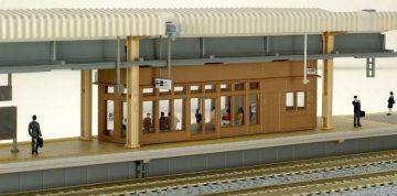 Bahnsteig-Zubehör-Set 8-teilig <br/>KATO 7074974 2