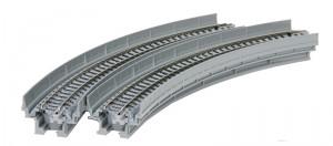 Viadukt, NBS, mit Gleis gebogen <br/>KATO 7077100