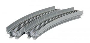 Viadukt, NBS, mit Gleis gebogen <br/>KATO 7077103