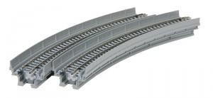 Viadukt, NBS, mit Gleis gebogen <br/>KATO 7077104