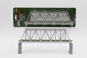 Brücke, Kasten-Brücke, silber <br/>KATO 7077203 1