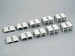 Pfeiler-Set auf- und ab, 10-teilig <br/>KATO 7077308