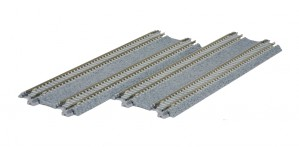 Doppelgleis, Beton, gerade, 186 mm <br/>KATO 7078020 1