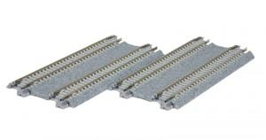 Doppelgleis, Beton, gerade, 124 mm <br/>KATO 7078021 1