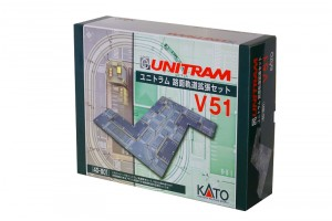 UNITRAM V51 Erweiterungs-Set <br/>KATO 7078669
