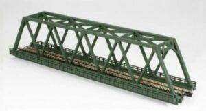 Brücke, Kasten-Brücke, 1-gleisig 220mm <br/>Rokuhan 7297041
