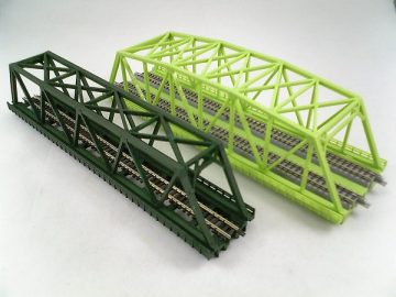 Brücke, Kasten-Brücke, 1-gleisig 220mm <br/>Rokuhan 7297042 1