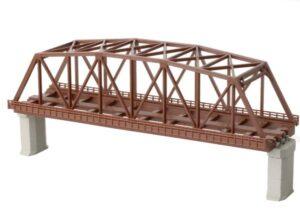 Brücke, Kasten-Brücke, 2-gleisig 220mm <br/>Rokuhan 7297060