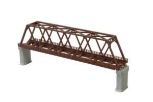 Brücke, Kasten-Brücke, 1-gleisig 220mm <br/>Rokuhan 7297061
