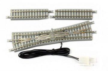 Doppelkreuzungsweiche mit elektromagnetischem Antrieb, R 112,8m, 13° <br/>Rokuhan 7297068 1