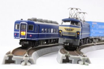 Gleis, gebogen, überhöht, r 270, 30° <br/>Rokuhan 7297076 1