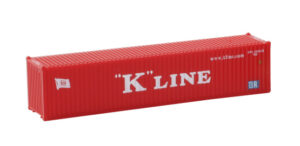 40' Übersee Container K-Line <br/>Rokuhan 7297500