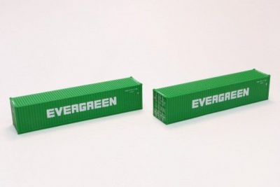 40' Container Evergreen <br/>Rokuhan 7297516