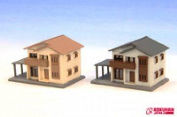 Zweistöckiges Haus Typ-A weis <br/>Rokuhan 7297627 1
