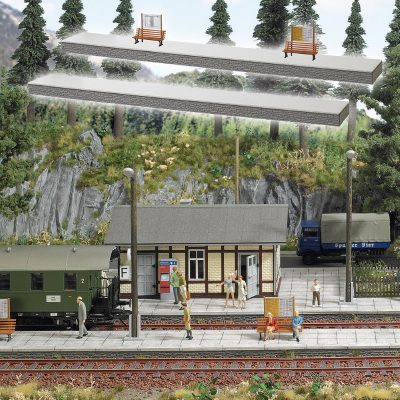 Bahnsteig <br/>BUSCH 10000