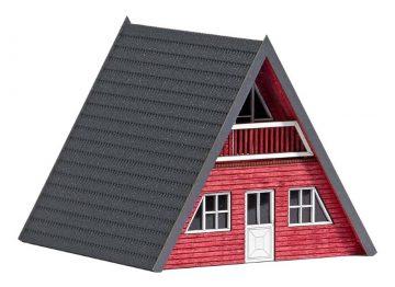 Finnhütte, Rotes Holz <br/>BUSCH 1438 1
