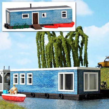 Hausboot Hellblau <br/>BUSCH 1439 1