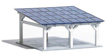 Moderner Solarcarport <br/>BUSCH 1572 1