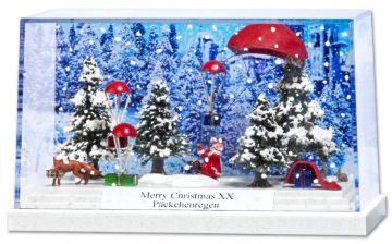 Diorama: Merry Christmas XX <br/>BUSCH 7655 1