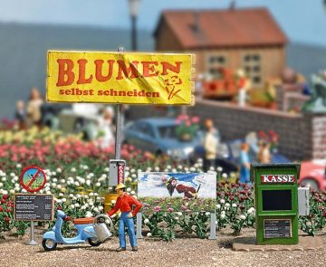 Mini-Welt: Blumen selbst schneiden <br/>BUSCH 7714 1