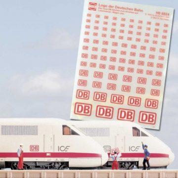 DB-Schilder zum Anreiben <br/>BUSCH 8124 1