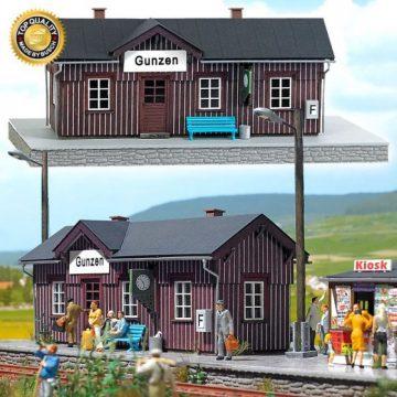 Bahnhof »Gunzen« <br/>BUSCH 8762 1