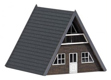 Finnhütte, dunkles Holz <br/>BUSCH 8837 1