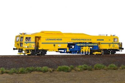 Diesel-Triebzug Schienen-Stopfexpress Leonhard Weiss 3L <br/>Viessmann 2654