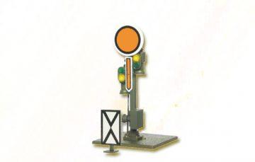 Form-Vorsignal, Scheibe starr, Flügel beweglich <br/>Viessmann 4407 1