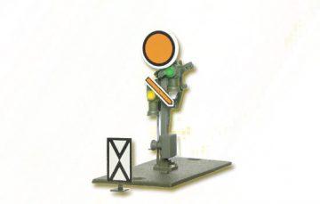 Form-Vorsignal, Scheibe beweglich, Flügel beweglich <br/>Viessmann 4408 1